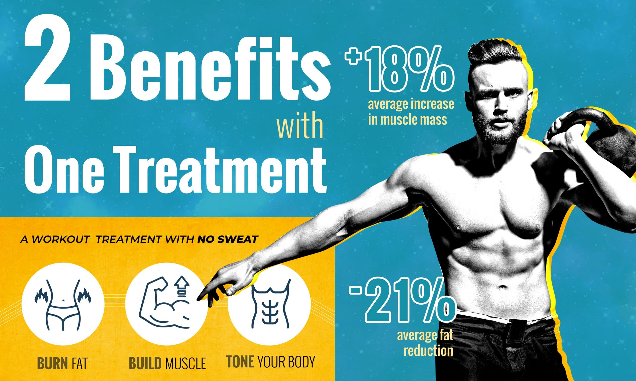 A Workout Treatment With No Sweat
