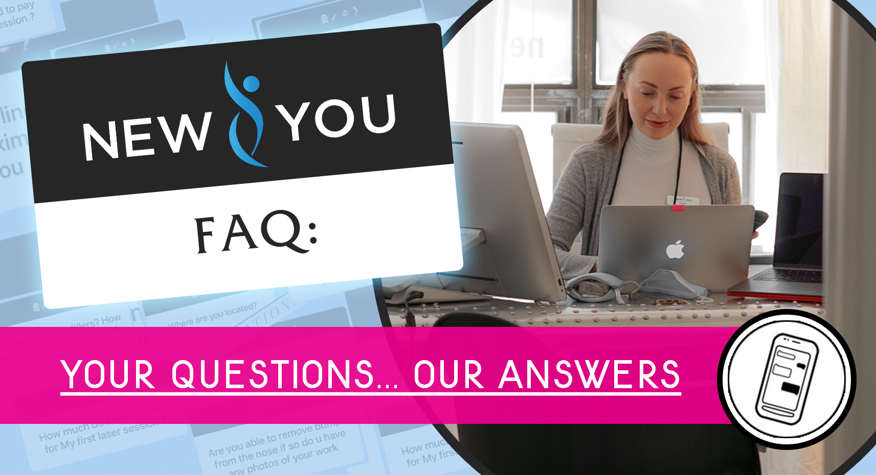 Answering Your Questions: (Jawline Fillers, Bodisculpting, Rhinoplasty, Laser Hair & Locations)